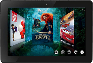 movie gallery kindle fire hdx