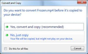 no just copy