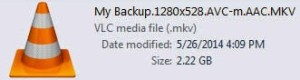 smaller mkv file