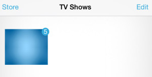 tv shows on iPhone