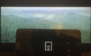 samsung smarttv video screen mirroring playback